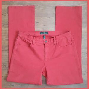 LRL Ralph Lauren Red Straight Leg Jeans